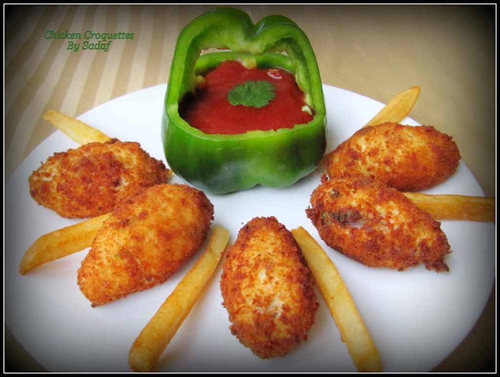 Chicken croquettes recipe chicken croquettes snack appetizer iftar ramadan recipe forumfinder Choice Image