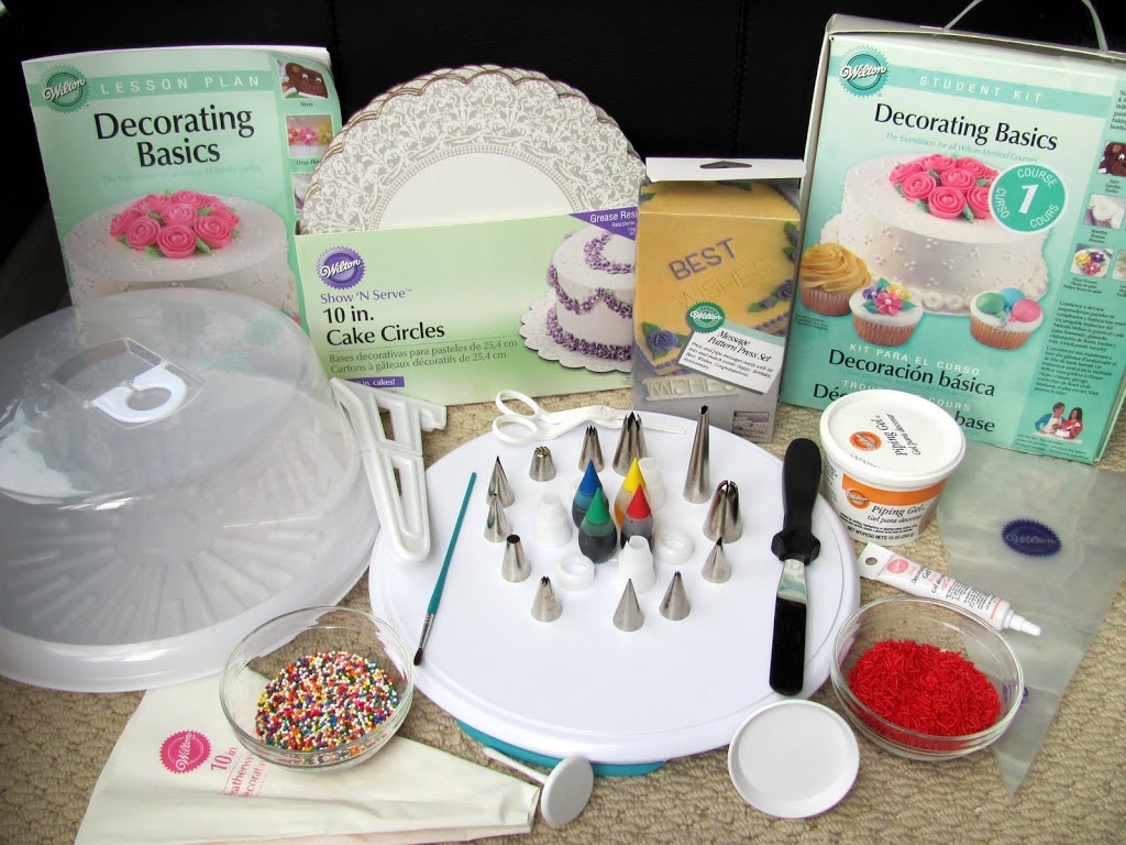 Cake Decoration Store : Wilton Cake Decorating Classes