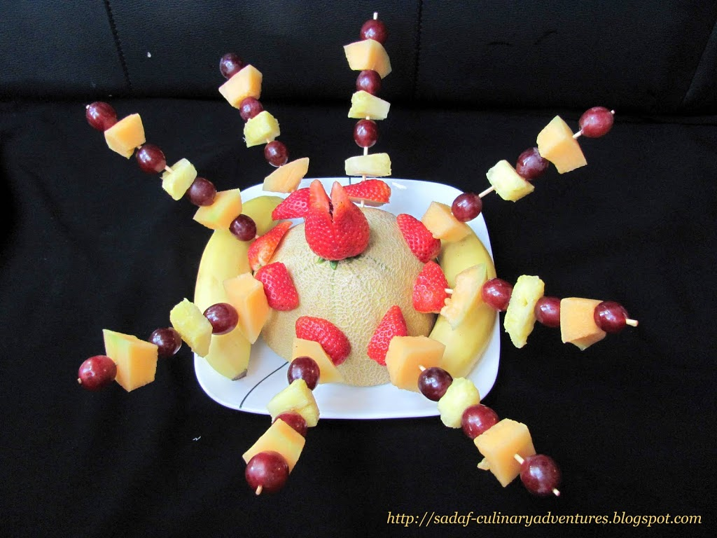 Fruit Kabobs for Ramadan