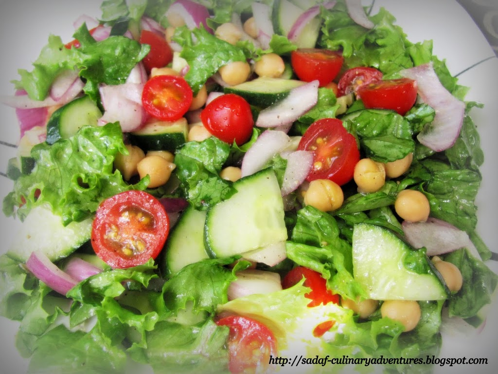 Healthy Garden Salad recipe