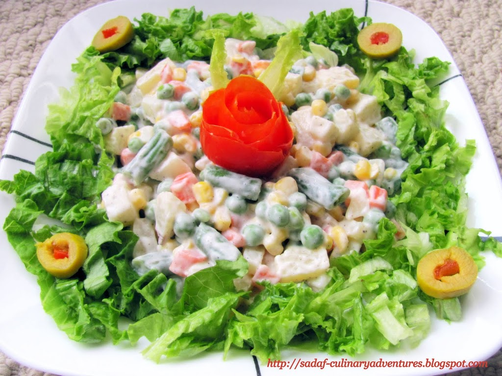 Russian Salad recipe