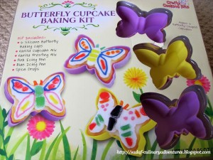 Butterfly Cupcake baking kit