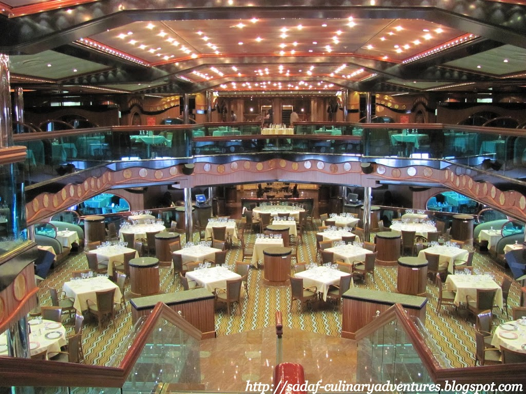 Main Dining Room in the Carnival Triumph