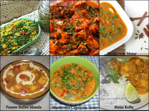 Vegetarian recipes for Eid