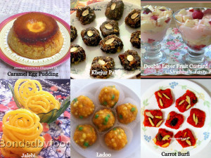 Dessert recipes for Eid