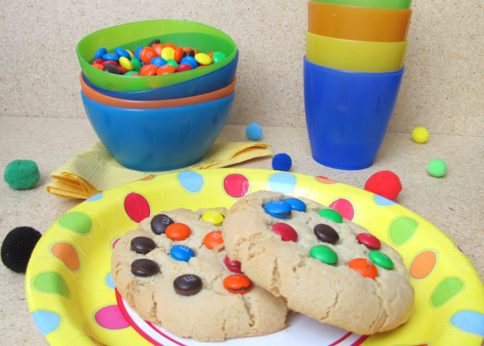 M&M Gems Candy Cookies recipes