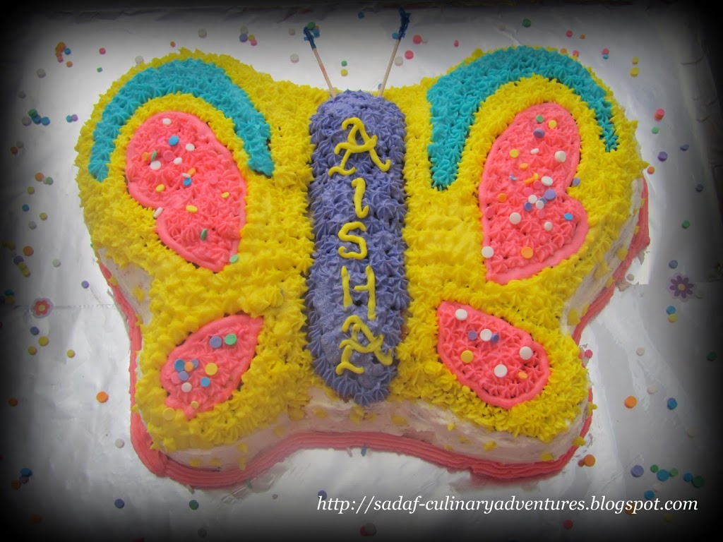 butterfly cake my culinary adventures
