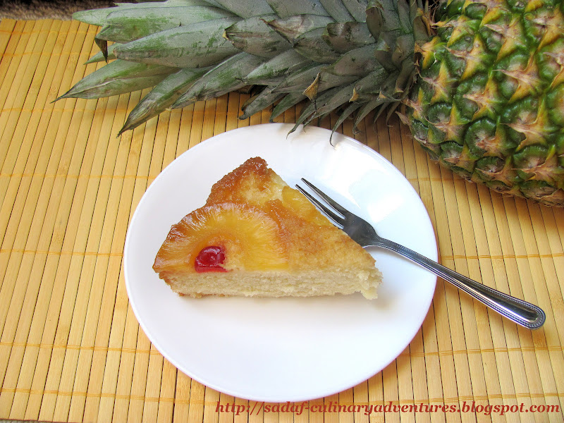 Classic Pineapple Upside Down Cake recipe