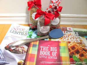 Love your lentils recipe books and kit