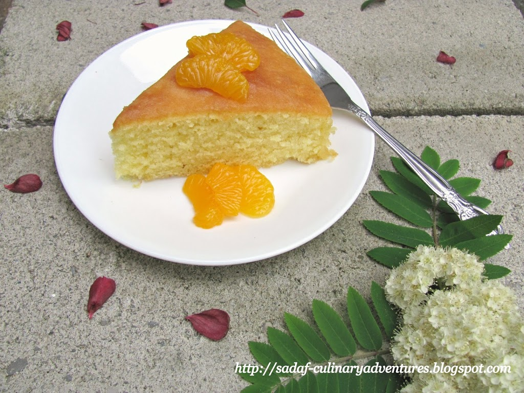 Glazed Orange butter Cake