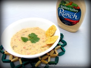Hidden Valley Ranch Eggplant Dip