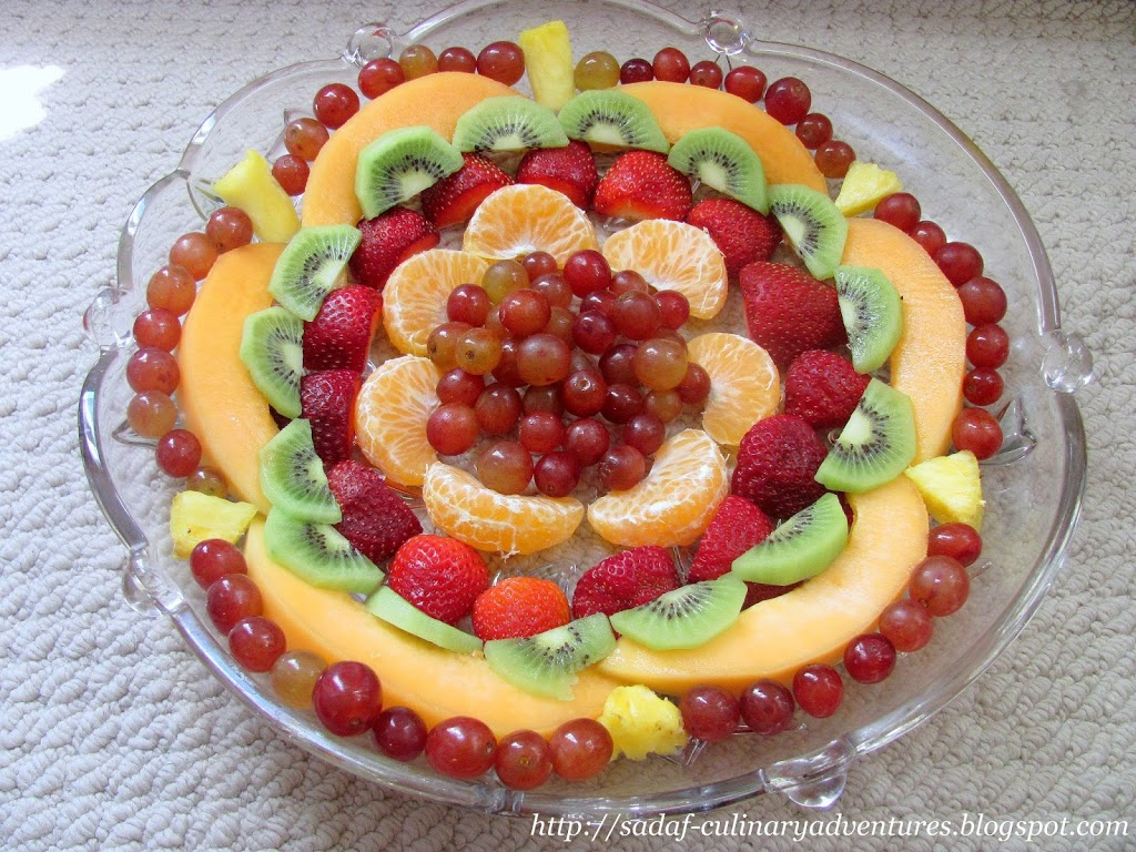 Fruit Platter for Ramadan iftar