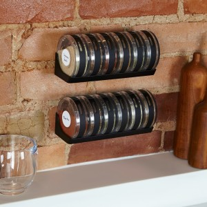 Review of space saving Cylindra Spice Rack by Umbra
