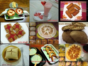 Eid Party appetizer, snack, drinks recipes