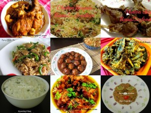 Eid party biryani, curry, main course recipes