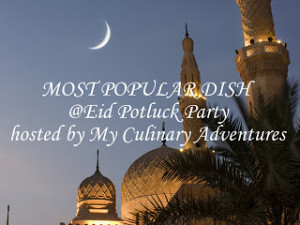 Eid Potluck Party recipes