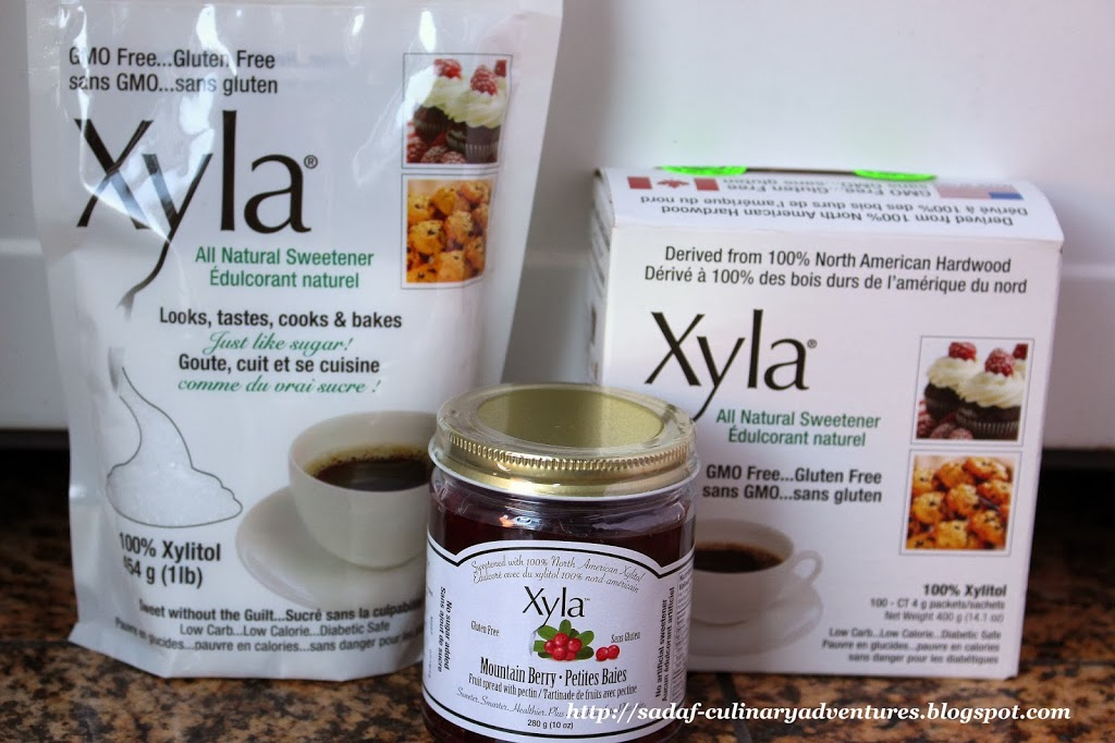 Sugar-free Xyla products