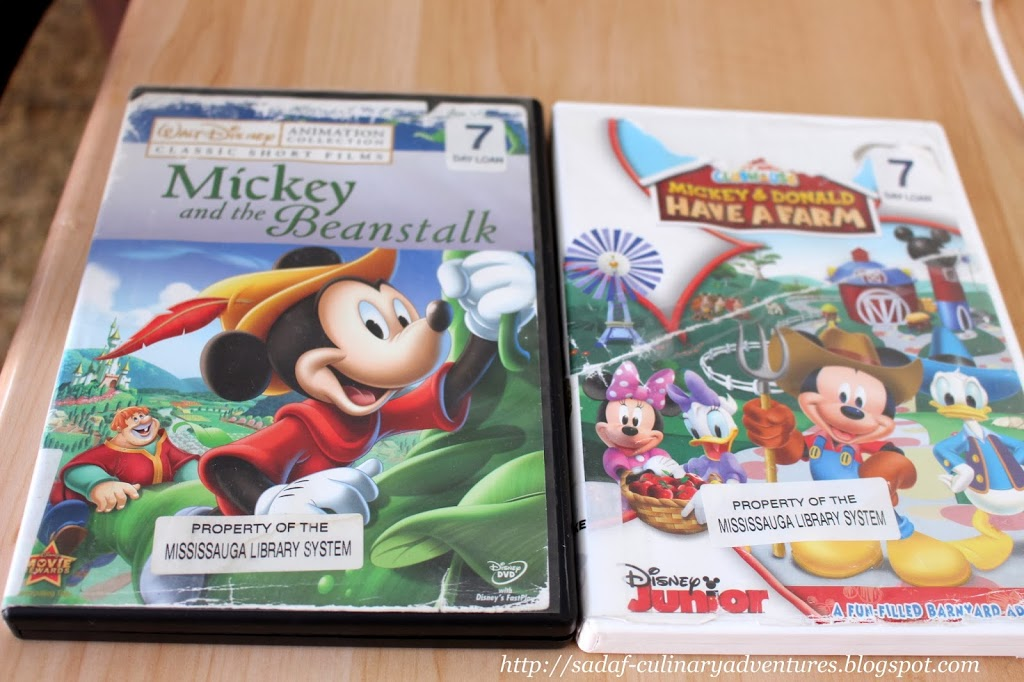 Mickey Mouse DVDs
