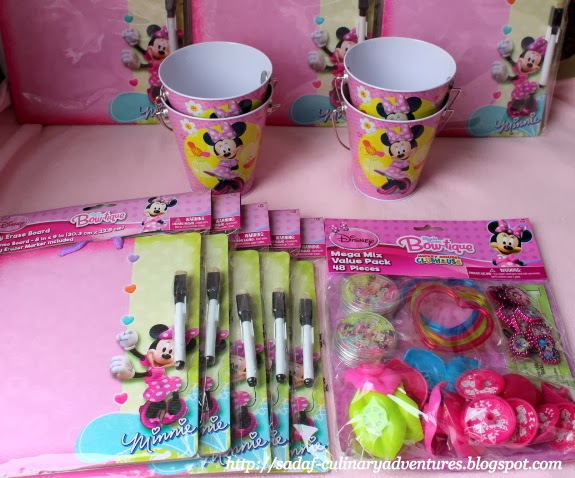 Minnie's Bow-tique Party Favors from Party City