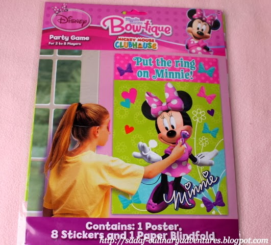 Disney Put the ring on Minnie game from Party City
