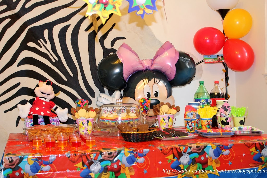 Our Mickey and Minnie themed #DisneySide Party