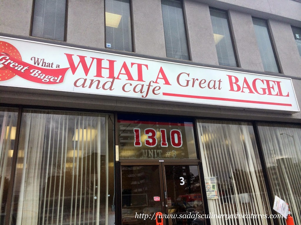 What a Great Bagel, Mississauga, Ontario