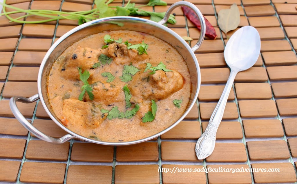 Low fat creamy chicken curry my culinary adventures low fat creamy indian chicken curry recipe forumfinder Gallery