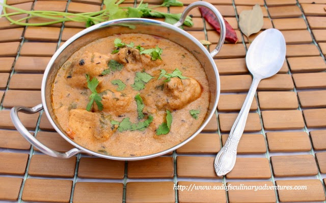 Low-Fat, Creamy Chicken Curry recipe