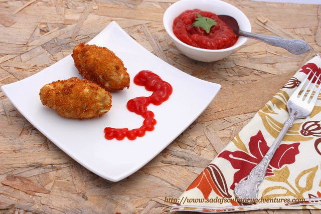 Meat and Egg Croquettes for Ramadan Iftar