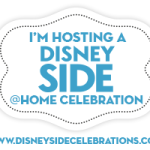 I'm a #DisneySide @Home Celebration Host once again!
