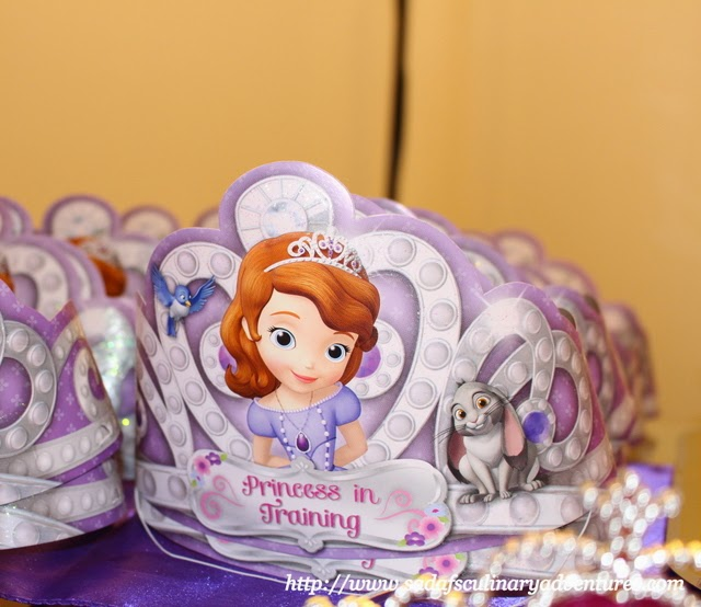 Sofia the First Party Tiaras