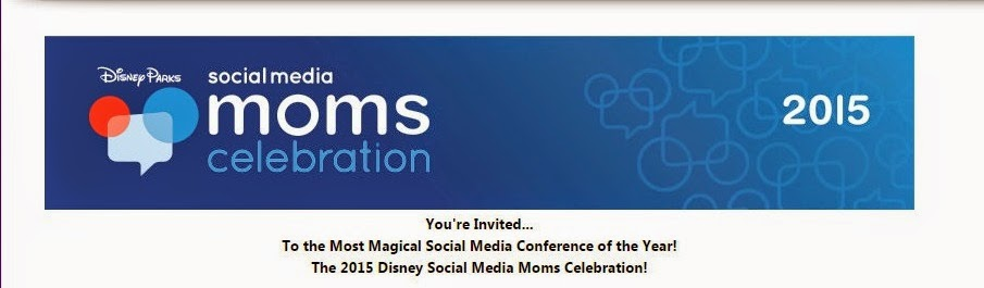 2015 Disney Social Media Celebration Invitation #DSMMC
