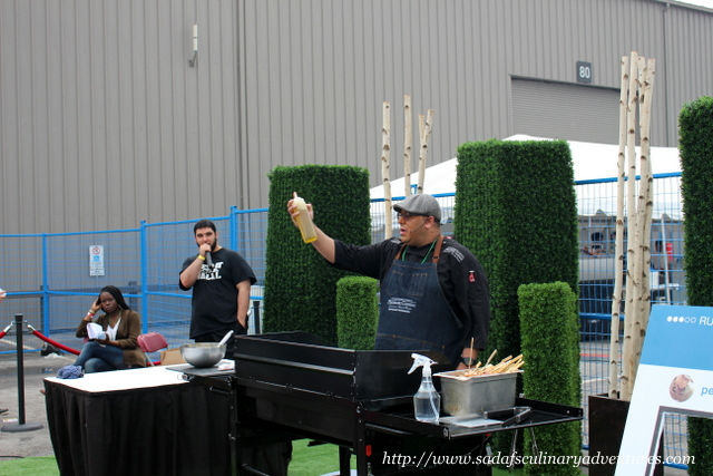 Grilling Demonstration by Chef Russell Auckbaraullee