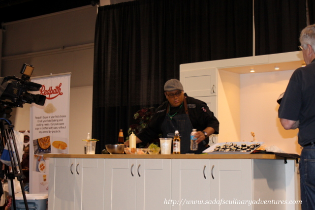 Sushi Demonstration with Chef Russell Auckbaraullee