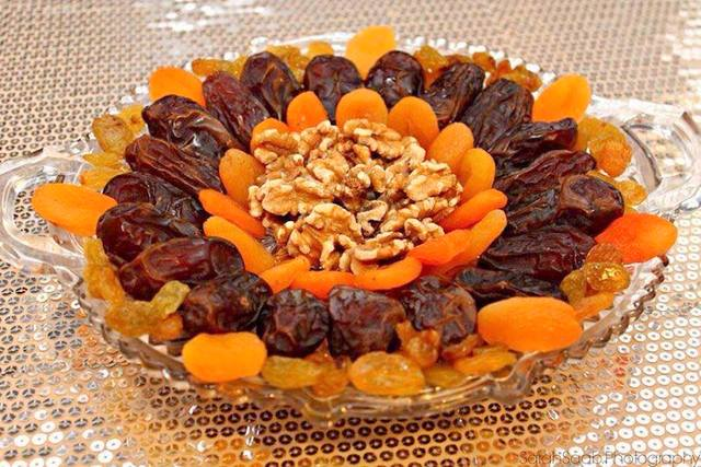 Date and Nut Platter as Ramadan Hostess Gift