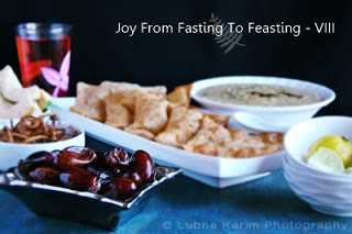 Joy from Fasting to Feasting Ramadan recipes event