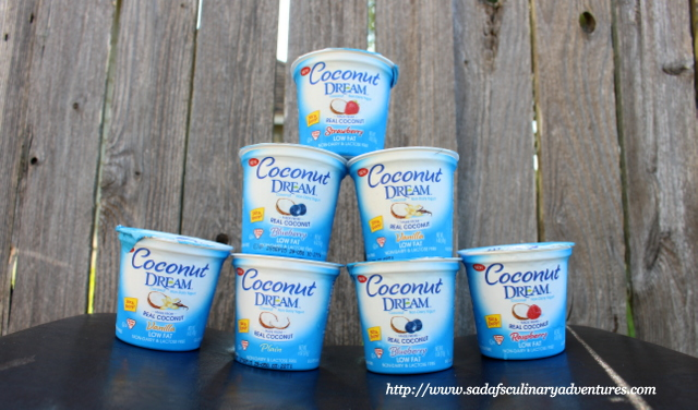 Non dairy coconut yogurt