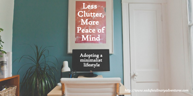 The joys of adopting a minimalist lifestyle