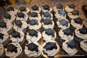 Elementary School Graduation Party Cupcakes