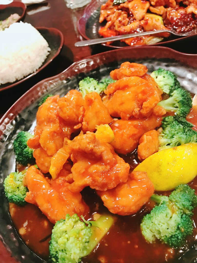Halal Orange Chicken at Jade Ly Asian Bistro