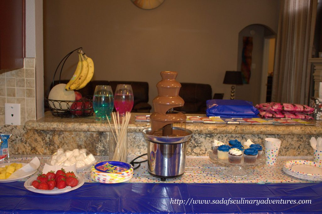 Chocolate Fountain for Kids party