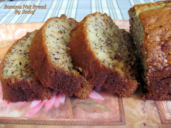 Banana Nut Bread recipe