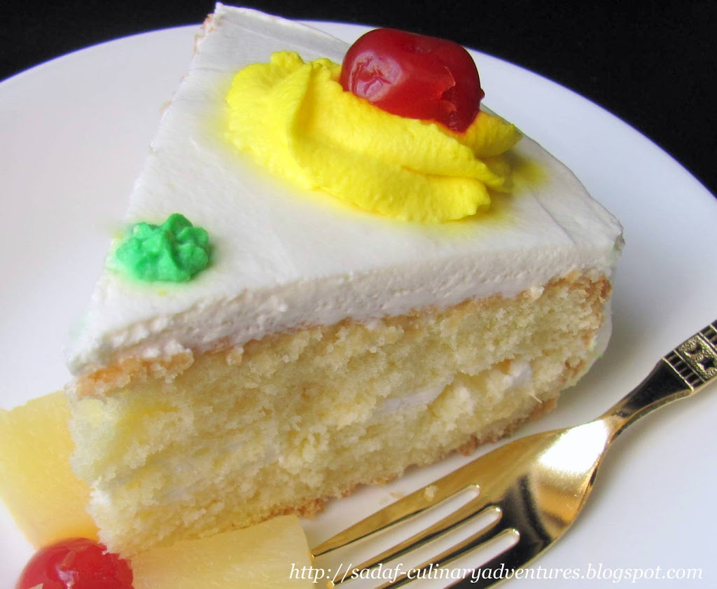 Pineapple Sponge Cake recipe