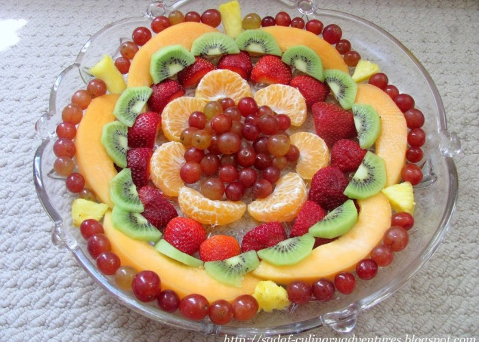 Fruit Platter for Ramadan iftar