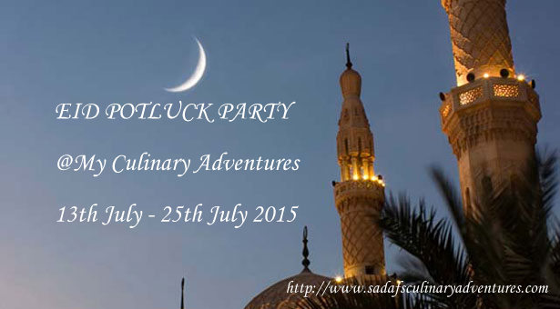 Virtual Eid Potluck Party