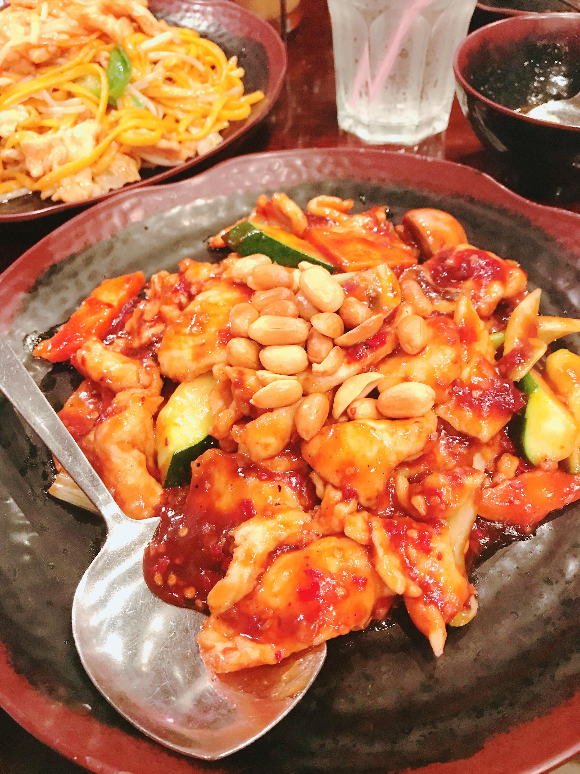 Halal General Tso Chicken at Jade Ly Asian Bistro, Sugar Land, TX
